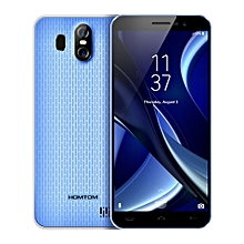 HOMTOM S16 3G Smartphone Android 7.0 MTK6580 Quad-core 1.3GHz 2GB RAM 16GB ROM  - BLUE