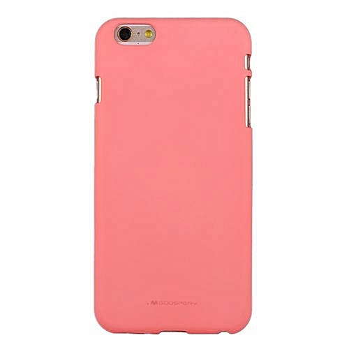premium selection 7fb68 14e5c MERCURY GOOSPERY SOFT FEELING for iPhone 6 Plus and 6s Plus Liquid State  TPU Drop-proof Soft Protective Back Cover Case(Pink)