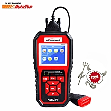 GoTime Best OBD2 ODB 2 Automotive Scanner KW850 Multi-languages Full OBDII Function Auto Diagnostic Tool Better Than AL519 LBQ