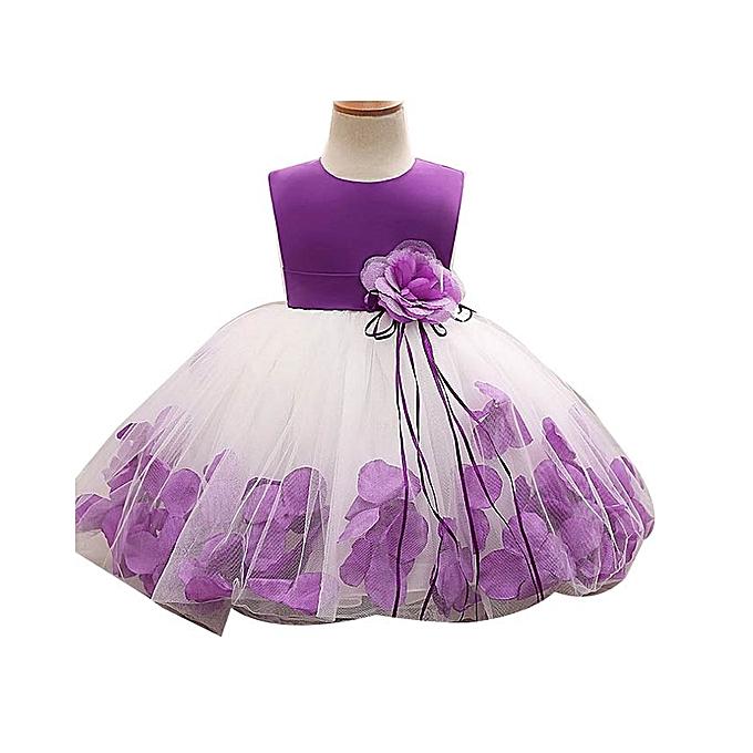 Generic Girl Dress Kids Party Wedding Dresses @ Best Price