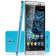 """5.0"""" un-locked Dual Core Android 4.4 8GB Smartphone 3G qHD Cell Phone 5MP GPS- blue"""