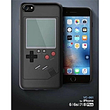 Handheld Mini Tetris Console Built-in 8 Classic Games Case Cover For iphone 7 plus/8 plus