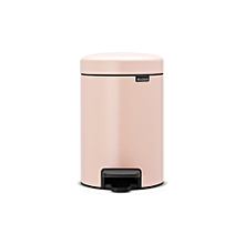 112508 - Newicon Pedal Bin 5L - Clay Pink