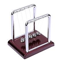 Newton Cradle Balance Steel Ball Physics Science Pendulum Development Educational Desk Toy Girf-