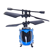 RC 5012 2CH Mini Rc Helicopter Radio Remote Control Aircraft Micro 2 Channel Blue