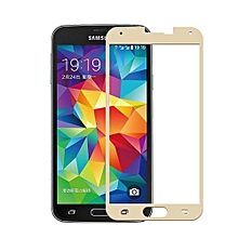 Tempered Glass Screen Protector Film For Samsung Galaxy S5 I9600 (Gold)