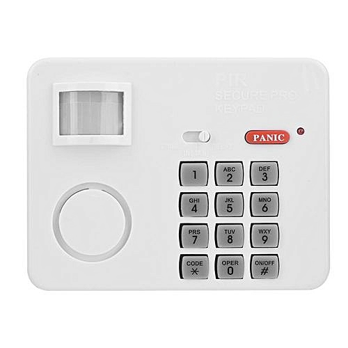 Motion Detector Alarm >> Generic Wireless Pir Motion Sensor Alarm Password Home Security