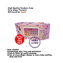 Baby Wipes 80PCS Value Pack