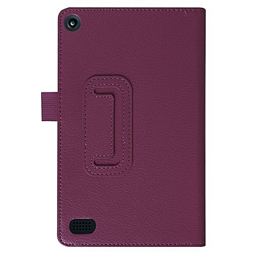 Intelligent  Folding Stand Leather Case Cover For Amazon Kindle Fire7 2017 PP