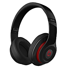Studio 2.0 Wired Over-Ear Headphone On-Ear Stereo Music Headset Noise Reduction Earphone Black Second-hand No Package No Accessories