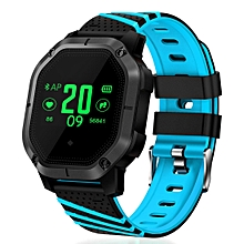 K5 1.0 inch TFT Color Screen Man Sport Smart Bracelet Silicone Band IP68 Waterproof,Support Call Reminder / Heart Rate Monitor / Pedometer / Blood Pressure Monitor / Sleeping Monitor / Blood Oxygen Monitor