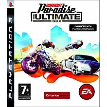 PS3 Game Burnout Paradise
