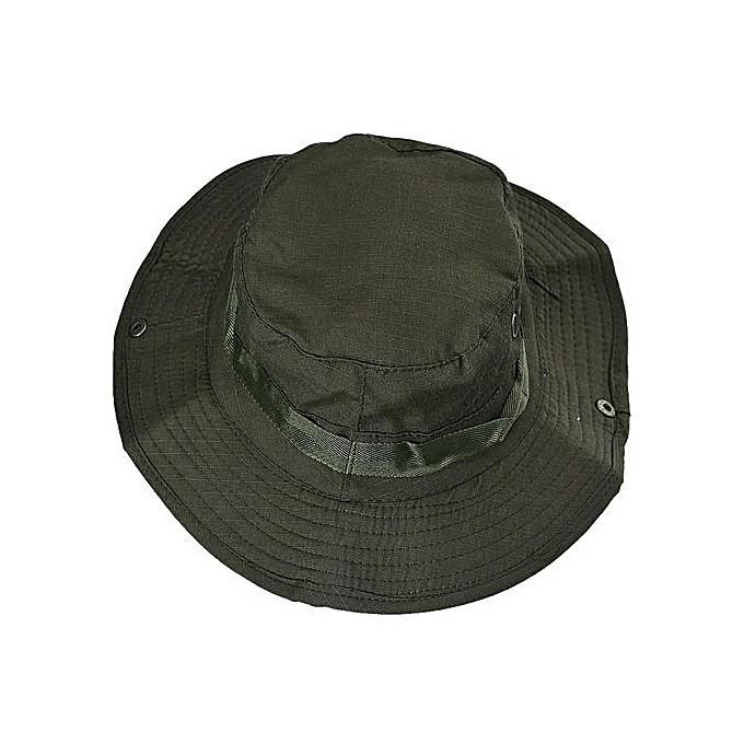 Zetenis Bucket Hat Boonie Hunting Fishing Outdoor Cap Brim Military Army GN  -Army Green 40346ada726