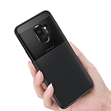 Protective TPU Back Cover Case For Samsung S9 PLUS / S9, Mobile Phone Anti-Shock Case Black