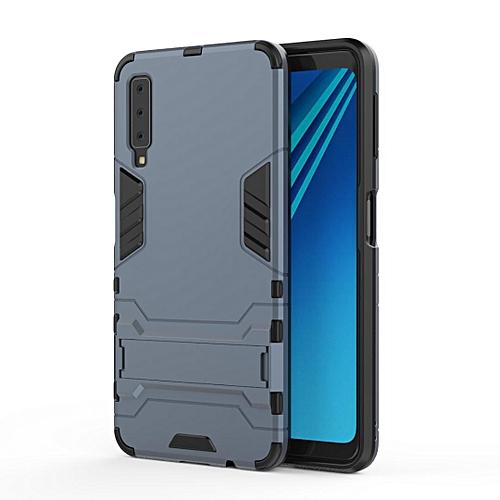 the best attitude f2990 a1214 Iron Man Hard Armor Case for Samsung Galaxy A7 (2018) / A750