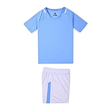 Customized World Cup Children Kids Boy And Girl's Football Soccer Team Sports Training Jersey-Sky Blue
