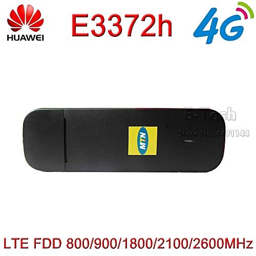 10pcs/lot HUAWEI E3372 E3372h-153 E3372s-153 150Mbps 4G LTE Modem dongle  USB Stick Datacard Mobile Broadband