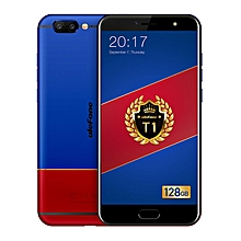 "T1 (6GB RAM 128GB ROM)Helio P25 MTK6757CD 5.5"" Corning Gorilla Glass FHD  Android 7.0 4G LTE Smartphone Red/Blue"