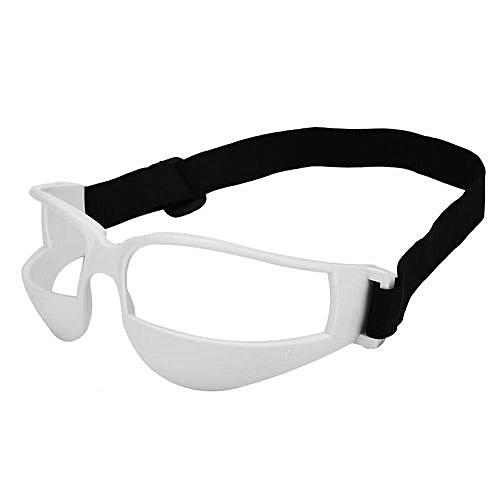 7596562d45d0 Generic Practical Basketball Head-up Training Glasses Dribbling Goggles  Sport Accessory(White)