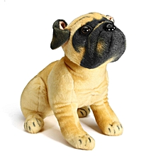 70cm New Large 60cm Pug Bull Dog Soft Plush Cuddly Toy Real Life Look Gift UK SELLER