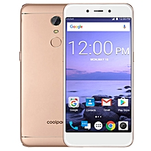 E2 5-inch (2GB, 16GB ROM) Android 7.1, 2500mAh, 8MP+5MP, Dual Sim 4G LTE Smartphone - Gold