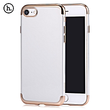 Glint Series Ultra Thin Electroplate Plating TPU Back Cover For IPhone 7 - Tyrant Gold