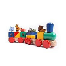 Stacking Train - Multi Colour