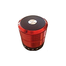 Bluetooth Speaker WS887 Support TF/U Disk, Wireless Mini Speaker - Red