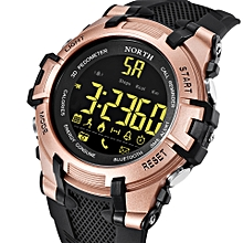 NORTH NS 2007 Calories SMS Alerts Bluetooth Watch Military Style LED Display Smart Watches