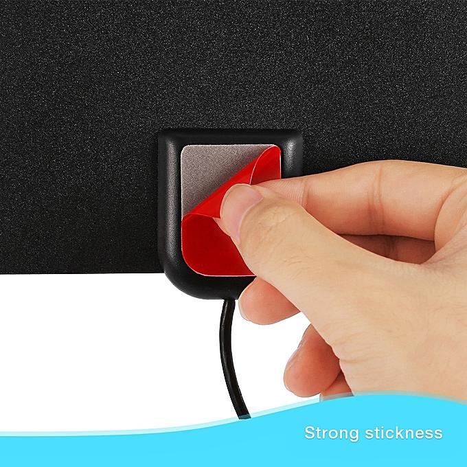 Digital HDTV Antenna TV Signal Reception Amplifier - Black