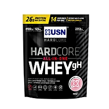 HardCore Whey gH - 462g (1 lbs) - Strawberry Smoothie