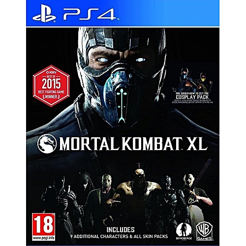 PS4 Game Mortal Kombat XL