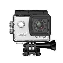 SJ4000 WiFi 1080P 1.5 inch LCD Action Camera Sport DV US Plug - Silver