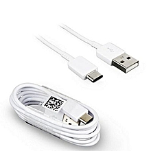 Type C  Fast Charge USB Cable 1 M - White
