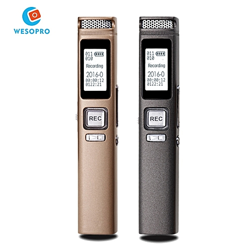 Digital Voice Recorder Audio Recorders X16 Dictaphone MP3 Player With  1536kbps 8GB/16GB Memory Noise Reduction LCD Display QHADJ