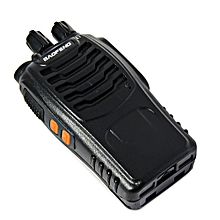 BAOFENG BF-888S UHF Walkie Talkie 16 Channels with Flash Light-BLACK
