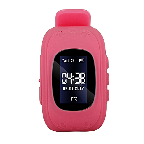 0 96inch LCD Screen Kids Smart Watch Phone for Girls Boys Children Gifts  LBS Tracker Locator Real-time Location Smartwatch with SIM Card Slot Remote