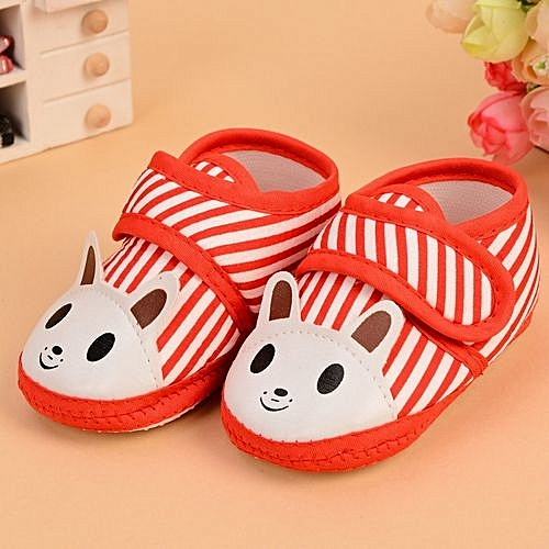 c47c85cada4 Fashion Nice Soft Antiskid Indoor Baby Boy Shoes 0-1 Year Old Printing  Animal Shoes Baby Girl Shoes-Red