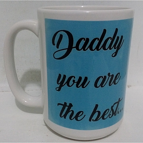 Big gift coffee mug for Dad - ideal for Christmas gifting