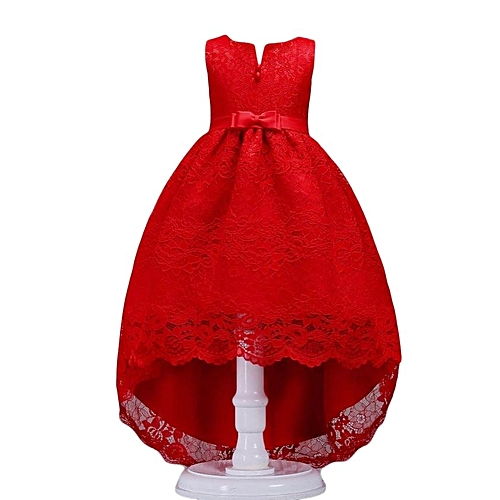 Girls' Clothing (sizes 4 & Up) Dresses The Best Flower Lace Girls Teens Wedding Pageant Party Dresses Princess Formal Prom Gown