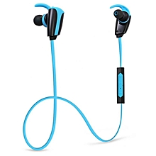 H903 - Bluetooth In-ear Sport Earbuds With Mic 10hrs Talk 8hrs Music - Blue