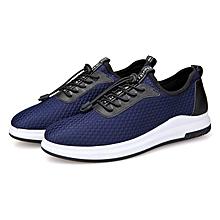 Men's Breathable Mesh Sport Shoes-Blue