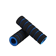1pair Bike Racing Bicycle Motorcycle Handle Bar Foam Sponge Grip Cover Non-slip