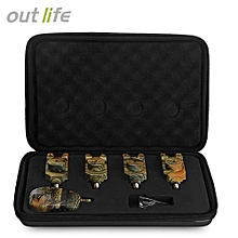 Outlife JY - 35 Camouflage Fishing LED Bite Alert Receiver Set-CAMOUFLAGE