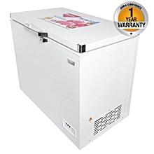 CF/231-  Chest Freezer+Icepak External Condenser- 140L- White