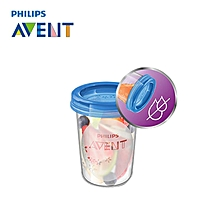 Philips AVENT 5pcs 8oz BPA Free Baby Breast Milk Powder And Food Storage Bottle Container