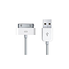 2pcs iphone 4s 4 ipod ipad 30pin USB cable charge/sync data