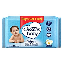 Baby Mild & Gentle - 50+50 Wipes