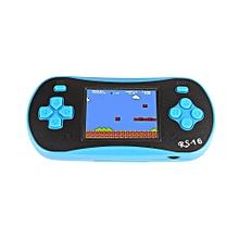 Video Game Player Handheld Player Mini Bule Built-In 260 Classic Games Children