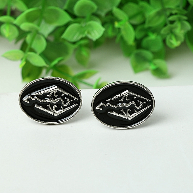 e00e328907e Pictured-Wind Men s Clothing Accessories Dinosaur Skyrim Ancient Scroll  Dragon French Silver-inlaid Cuff